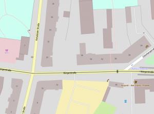 Streetmap Bürgerstrasse 50