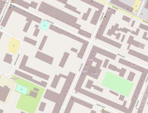 Streetmap Kamenzer Straße 27